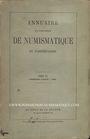 Second hand books Annuaire de la Société Française de Numismatique. Tome 3, 1ère partie. 1868