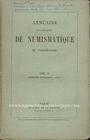 Second hand books Annuaire de la Société Française de Numismatique. Tome 4, 2e livraison. 1874