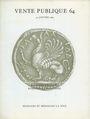 Second hand books Monnaies et Médailles, Bâle, vente aux enchères n° 64, des 30.01.1984