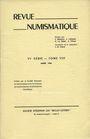 Second hand books Revue numismatique. 1966