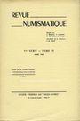Second hand books Revue numismatique. 1967