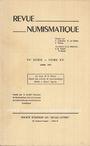 Second hand books Revue numismatique. 1973