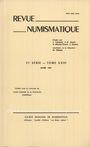 Second hand books Revue numismatique. 1981