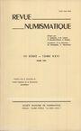 Second hand books Revue numismatique. 1984