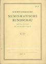 Second hand books Revue suisse de numismatique. 1966