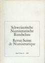 Second hand books Revue suisse de numismatique. 1980