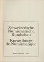 Second hand books Revue suisse de numismatique. 1985