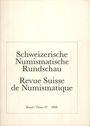 Second hand books Revue suisse de numismatique. 1988