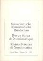 Second hand books Revue suisse de numismatique. 1991