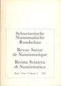 Second hand books Revue suisse de numismatique. 1992