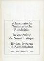 Second hand books Revue suisse de numismatique. 1993