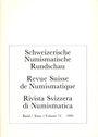 Second hand books Revue suisse de numismatique. 1995