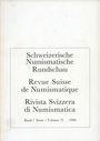 Second hand books Revue suisse de numismatique. 1996