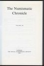 Second hand books The Numismatic Chronicle. Volume 148. 1988