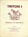 Second hand books Triton I - Vente des 02-03.12.1997