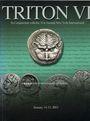 Second hand books Triton VI. Vente des 14-15.01.2003