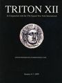 Second hand books Triton XII. Vente des 06-07.12.2009