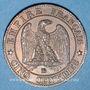 Stolen objects 2e empire (1852-70), 5 cmes tête laurée 1863BB Strasbourg