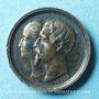 Stolen objects Baptême du prince impérial 1856, médaille argent 15,9 mm signée Caqué