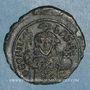 Stolen objects Empire byzantin. Théophile (829-842). 1/2 follis. Constantinople, 830/831-842