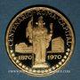 Stolen objects Guinée Equatoriale. République. 750 pesetas 1970. (900 /1000. 10,57 gr)