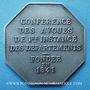 Stolen objects Justice, Conférence des Avoués de 1ère Instance des Départements fondée en 1841, jeton