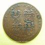 Stolen objects Municipalité de Lyon, Albanel, Renaud, Goiffon, Peysson, jeton cuivre 1717