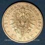Stolen objects Prusse, Guillaume I (1861-1888), 20 mark 1883A. 900 /1000. 7,96 gr