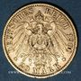 Stolen objects Prusse, Guillaume II (1888-1918), 20 mark 1900A. 900 /1000. 7,96 gr