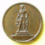 Stolen objects Révolution de 1848, Statue du général Marceau à Chartres 1851, médaille bronze 25 mm