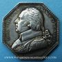 Stolen objects Salines de l'Est, Louis XVIII, jeton en argent. Sans poinçon
